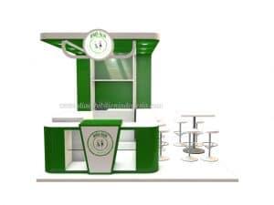desain booth jualan bali alm