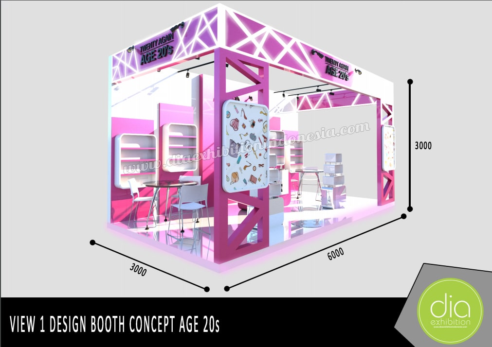 design booth 3d age 20s