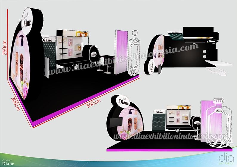design booth 3d diane